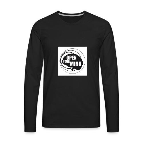 open your mind - Men's Premium Long Sleeve T-Shirt