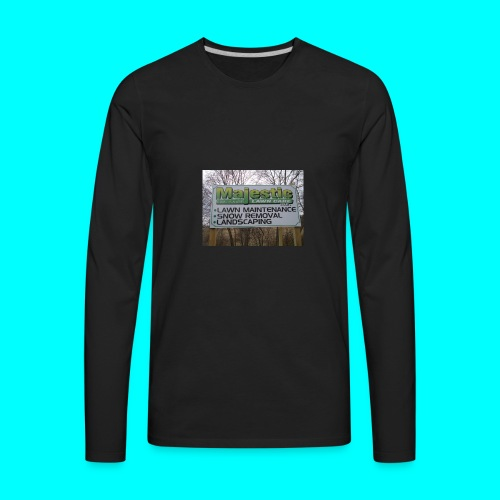 majestic lawn - Men's Premium Long Sleeve T-Shirt