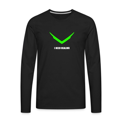 Genji I need healing - Men's Premium Long Sleeve T-Shirt