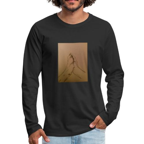 Wolf Kid - Men's Premium Long Sleeve T-Shirt