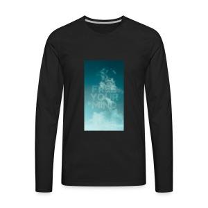 Free Your Mind - Men's Premium Long Sleeve T-Shirt