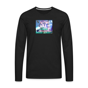 ISOLATE FROM THE WORLD - Men's Premium Long Sleeve T-Shirt