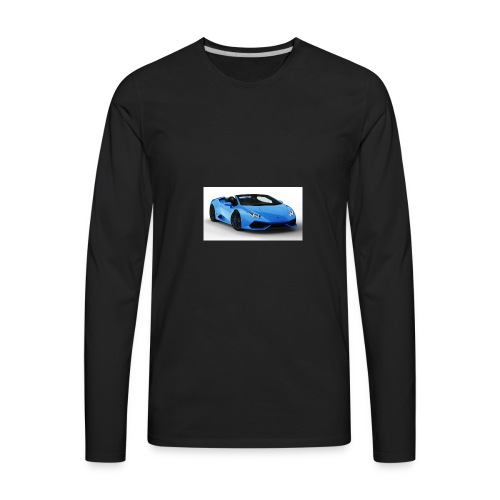 lambo huracan roadster rendering ts 4 - Men's Premium Long Sleeve T-Shirt