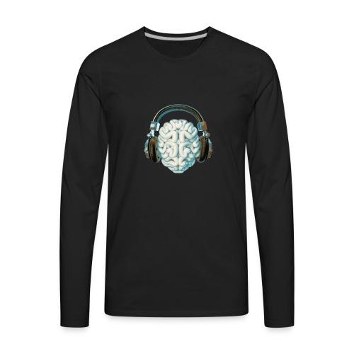Mind Music Connection - Men's Premium Long Sleeve T-Shirt