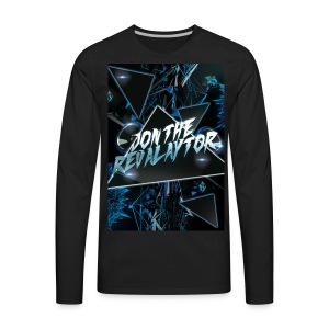 Wait for the drop Revalaytor series T-SHIRT - Men's Premium Long Sleeve T-Shirt