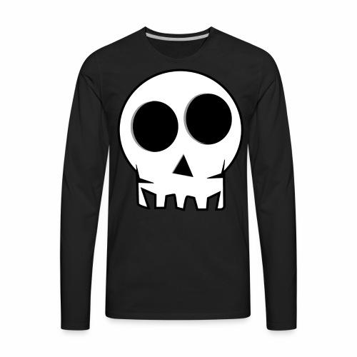 skull - Men's Premium Long Sleeve T-Shirt