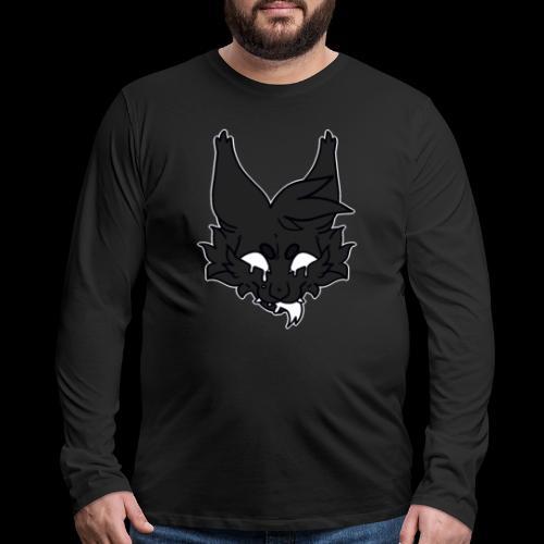 kitty candle-wax - Men's Premium Long Sleeve T-Shirt