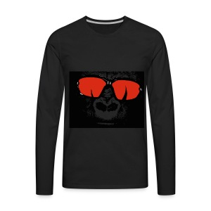 gorilla primate ape - Men's Premium Long Sleeve T-Shirt