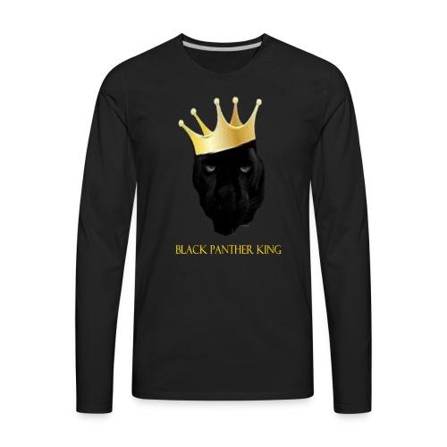 Panther King - Men's Premium Long Sleeve T-Shirt