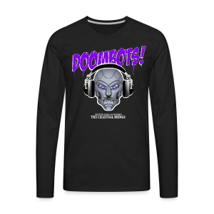 DOOMBOTS (The Celestial Beings Audio Comic Book) - Men's Premium Long Sleeve T-Shirt