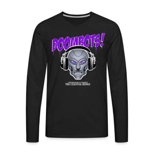 DOOMBOTS (The Celestial Beings Audio Comic Book) - Men's Premium Long Sleeve T-Shirt