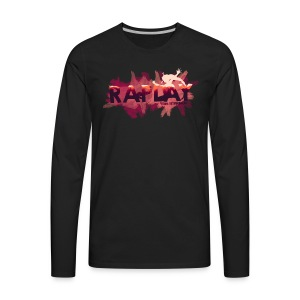Raplay Paint #VemPraRaplay - Men's Premium Long Sleeve T-Shirt