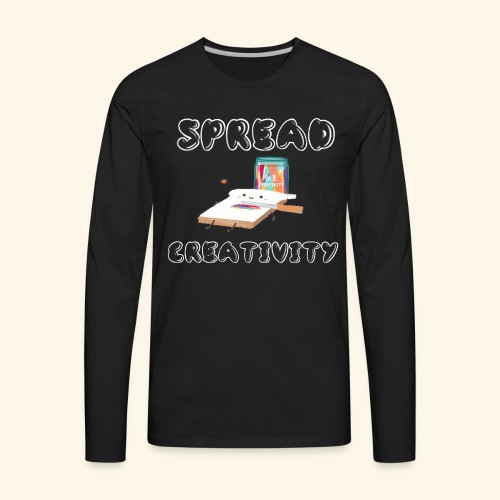 Spreading Creativity - Men's Premium Long Sleeve T-Shirt