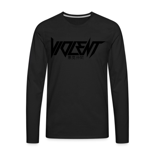 Violent B Apparel - Men's Premium Long Sleeve T-Shirt