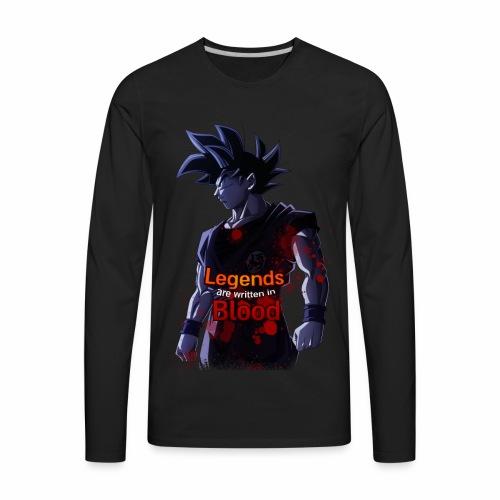 Goku Legends Blood - Men's Premium Long Sleeve T-Shirt