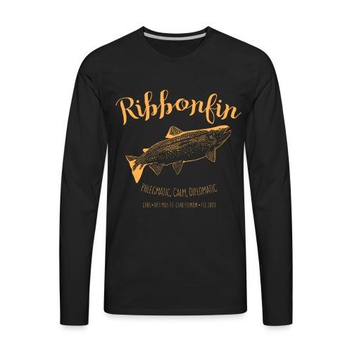 Ribbonfin House (copper) - Men's Premium Long Sleeve T-Shirt
