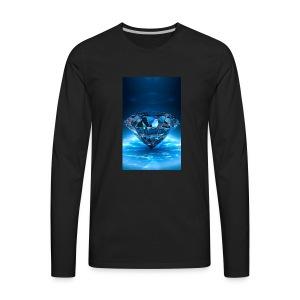 live wallpapers 7 - Men's Premium Long Sleeve T-Shirt