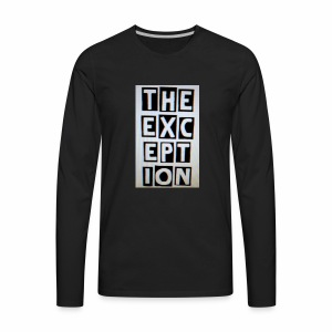 The Exception Campaign - Men's Premium Long Sleeve T-Shirt