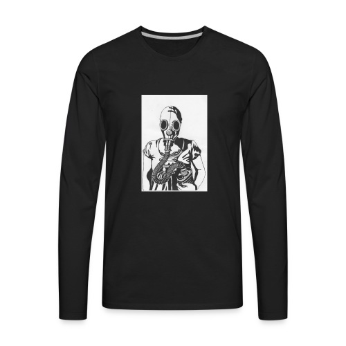 Tylers stay weird collection - Men's Premium Long Sleeve T-Shirt