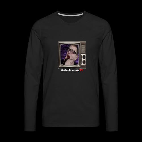 Basic Profile Picture Design Products - Men's Premium Long Sleeve T-Shirt