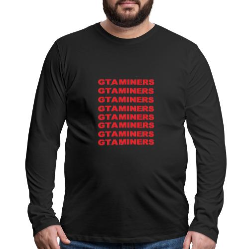 New - Men's Premium Long Sleeve T-Shirt