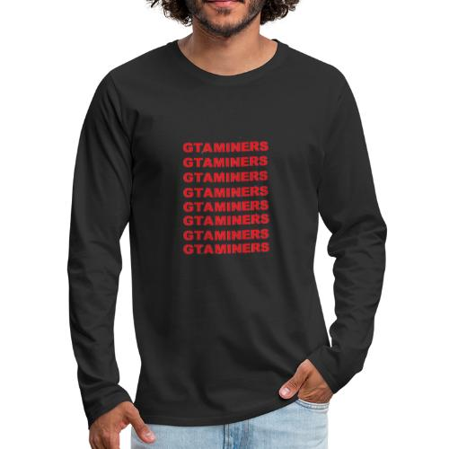 New - Men's Premium Long Sleeve T-Shirt