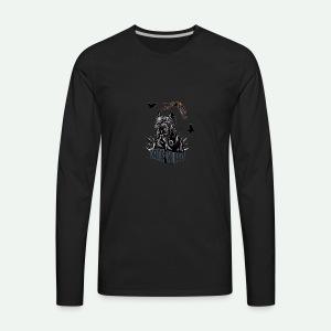 Black dog - Men's Premium Long Sleeve T-Shirt