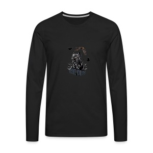 Black dog - Men's Premium Long Sleeve T-Shirt