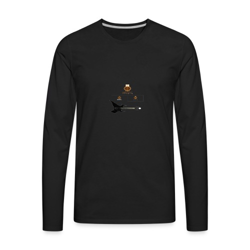MUSIC ROCK - Men's Premium Long Sleeve T-Shirt