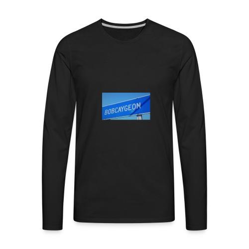 BOBCAYGEON - Men's Premium Long Sleeve T-Shirt