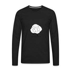 Don't be a sheep - Men's Premium Long Sleeve T-Shirt