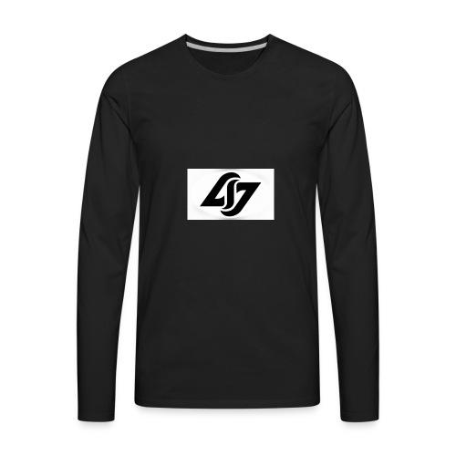 Silent Gamers merch - Men's Premium Long Sleeve T-Shirt