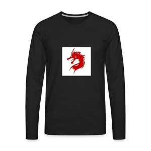 team fire dragon - Men's Premium Long Sleeve T-Shirt