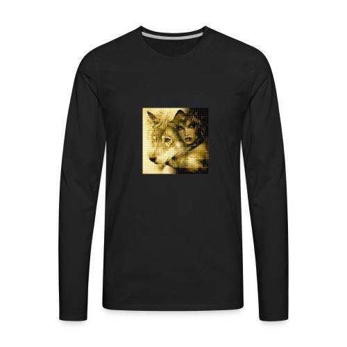 Wolfgirl - Men's Premium Long Sleeve T-Shirt