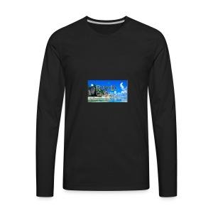 Reliving Life - Men's Premium Long Sleeve T-Shirt
