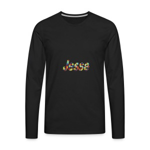 jesse no bg - Men's Premium Long Sleeve T-Shirt