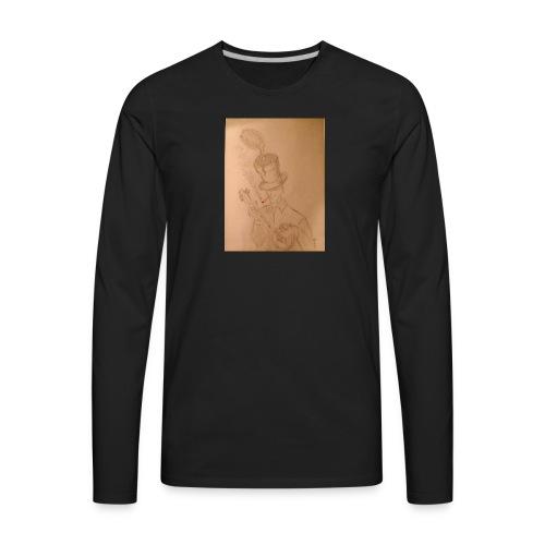 Martian Flytrap - Men's Premium Long Sleeve T-Shirt
