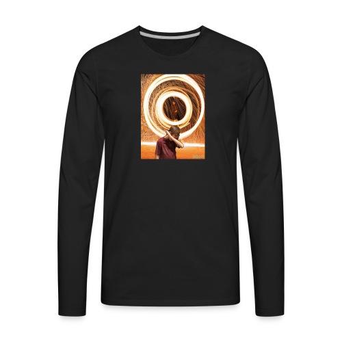 YouTube picture - Men's Premium Long Sleeve T-Shirt