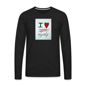I love myself tshirts - Men's Premium Long Sleeve T-Shirt
