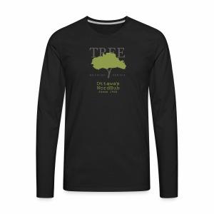 Tree Reading Swag - Men's Premium Long Sleeve T-Shirt