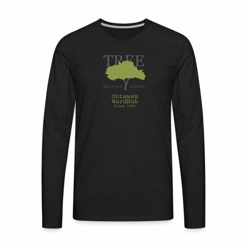Tree Reading Swag - Men's Premium Long Sleeve T-Shirt