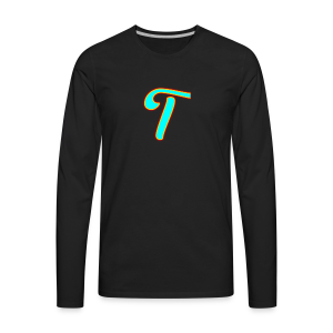 Tyleryolo YouTube Logo - Men's Premium Long Sleeve T-Shirt
