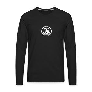 EDMSF White Logo - Men's Premium Long Sleeve T-Shirt