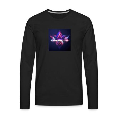 k1ngkal1b3r - Men's Premium Long Sleeve T-Shirt