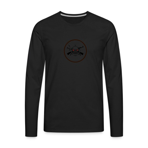 PicMonkey Sample 2 - Men's Premium Long Sleeve T-Shirt