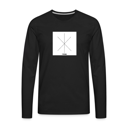 Snowy Logo - Men's Premium Long Sleeve T-Shirt