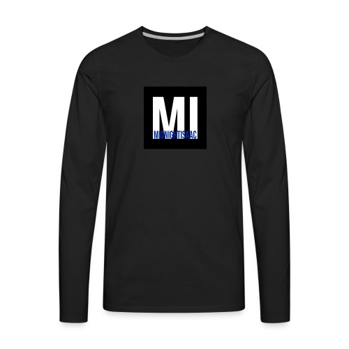 midnightisaac - Men's Premium Long Sleeve T-Shirt