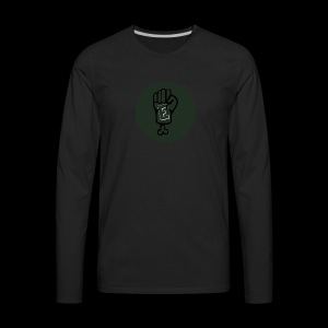 Eddies official youtube shirt - Men's Premium Long Sleeve T-Shirt