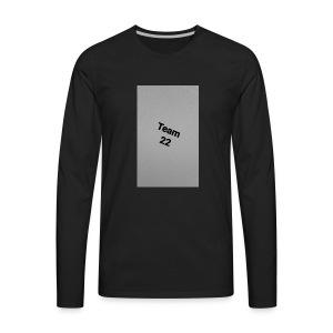 Team 22 - Men's Premium Long Sleeve T-Shirt