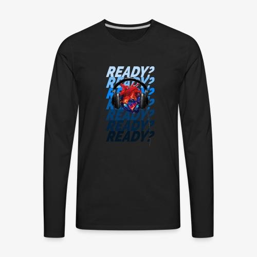 READY Heart - Men's Premium Long Sleeve T-Shirt